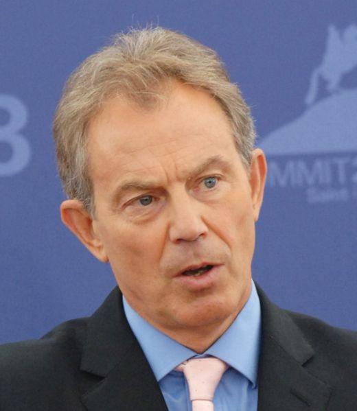 Tony Blair left office ...