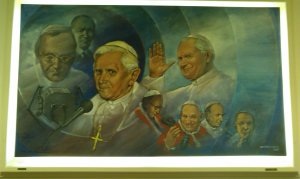 Vatican Radio painting