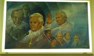 Vatican Radio painting
