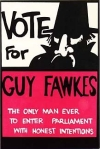 Guy Fawkes anarchist poster