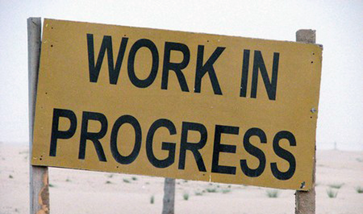 blog signs that working